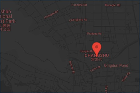 Changsu china map